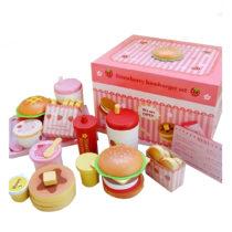 Mother Garden Strawberry Hamburger Set