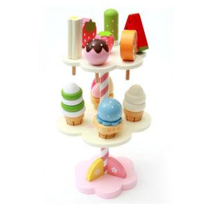 Mother Garden Strawberry Ice Cream Set