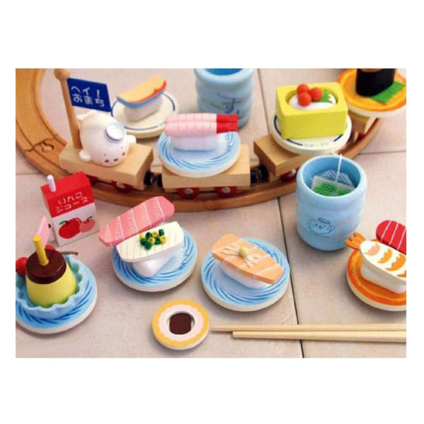 Mother Garden Sushi Train Set