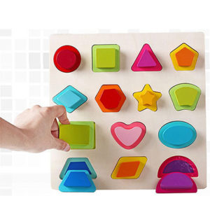 Wooden Chunky Shapes Puzzle