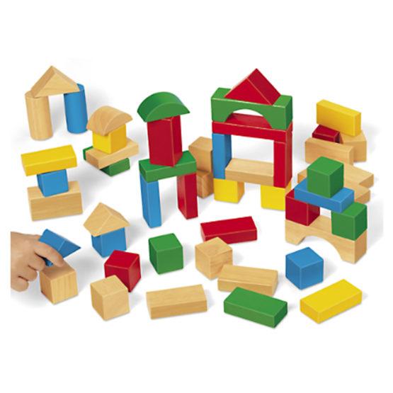 Lakeshore Tabletop Hardwood Blocks – Starter Set