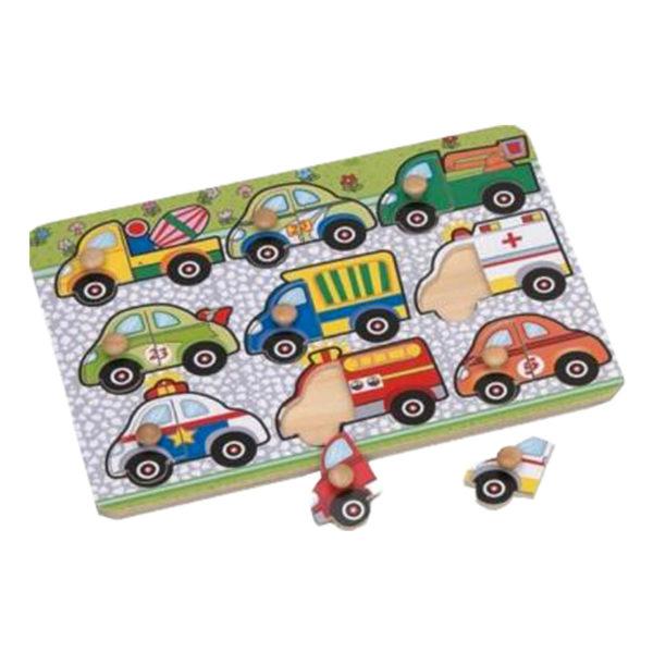 Young Mindz Vehicles Mix N' Match Peg