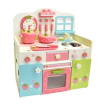 Mother Garden Wild Strawberry Kitchen in Pastel Color