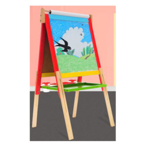 Young Mindz Wooden Adjustable Artist Easel