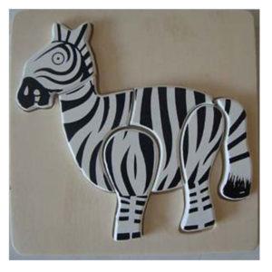 Young Mindz Zebra Jigsaw Puzzle