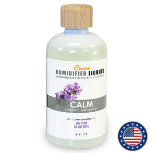 "Crane Humidifier Liquids (8oz/240ml) – CALM (Lavender/Sweet Orange) ""ME TIME IN NO TIME"""