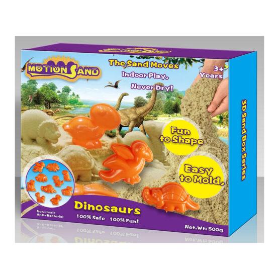 Motion Sand 3D Sand Box- Dinosaurs