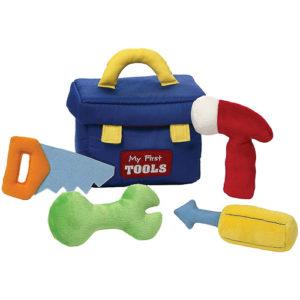 Gund – My 1st Toolbox Stuffed Baby Playset – Sensory Discovery