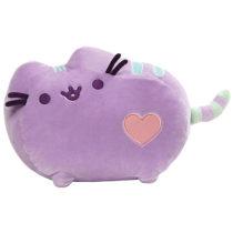 Gund – Pusheen Pastel Heart Cat Plush, Purple 12-inches