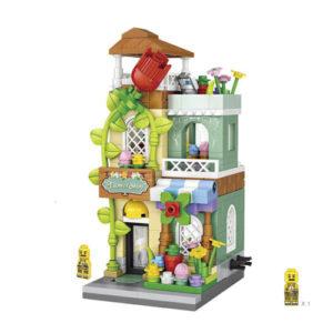 LOZ – Mini Street Flower Shop Building Blocks