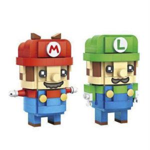 LOZ – Brickheadz Super Mario and Luigi Building Blocks