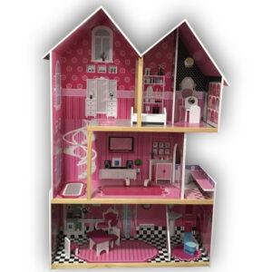 Young Mindz – Wooden Modern Luxury Dollhouse