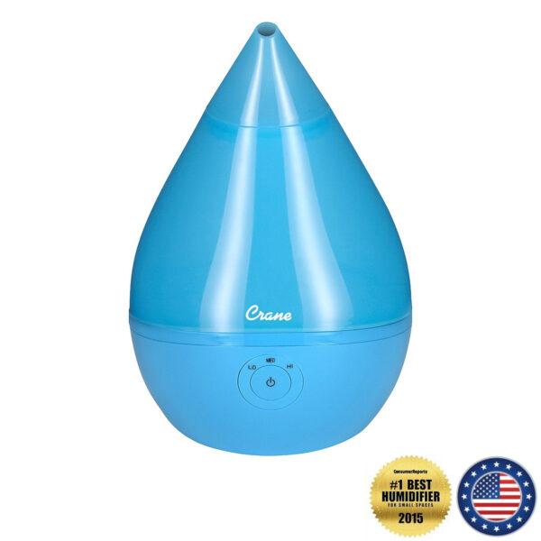 Crane Droplet Cool Mist Humidifier – Aqua Blue