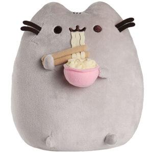 Gund – Pusheen with Ramen Noodles Plush Stuffed Animal, 10″