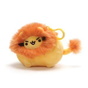 Gund – Pusheenimals Lion Plush Stuffed Animal Backpack Clip, Yellow and Orange, 5″
