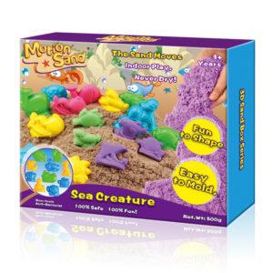 Motion Sand – 3D Sand Box – Sea Creature