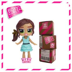 Boxy Girls 486IT – Lina Mini Doll with Surprise Fashion Accessories