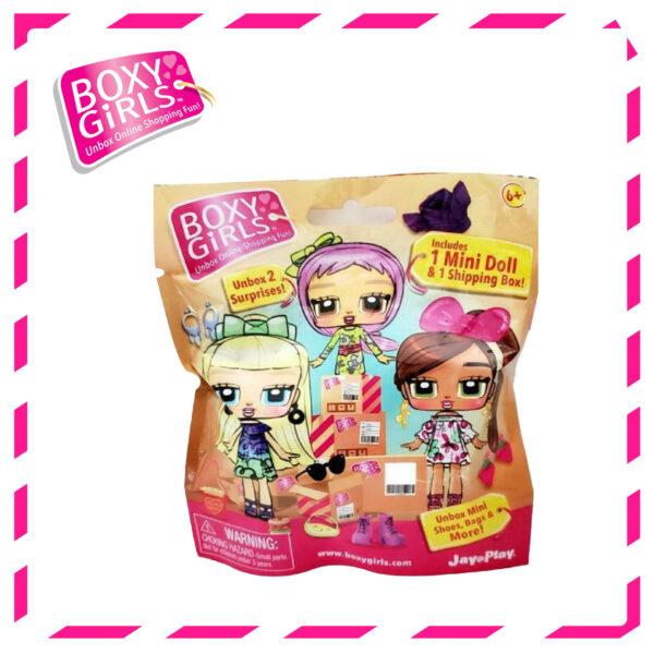Boxy Girls 5993 Mini Dolls Blind Bags (1 pc. only – Random)