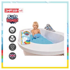 Zimpli Kids 6223 Baff Bombz Cloud Rainbow Effect Bath Bomb