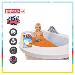 Zimpli Kids 6224 Baff Bombz Rocket with Flame Effect Bath Bomb