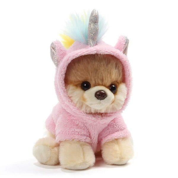 Gund Boo 4060859 World's Cutest Dog Boo Itty Bitty Boo Unicorn Stuffed Animal Plush, 5 Inches