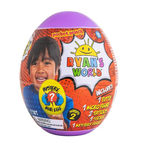 Ryan's World 739 Mini Mystery Purple Egg Series 2