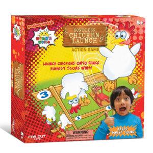 Ryan's World 31303 Boneless Chicken Launch Action Game