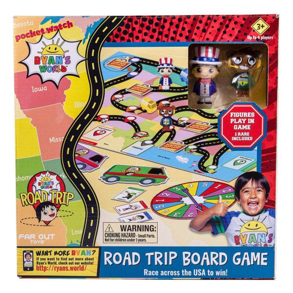 Ryan's World 31308 Road Trip Board Game