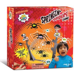 Ryan's World 31404 Spingin' Spiders Game