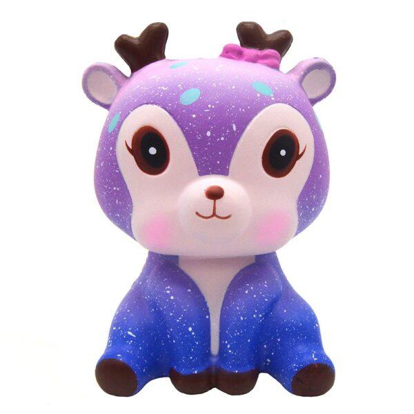 SanQi Elan SQ173 Super Slow Rise Galaxy Sky Deer Squishy
