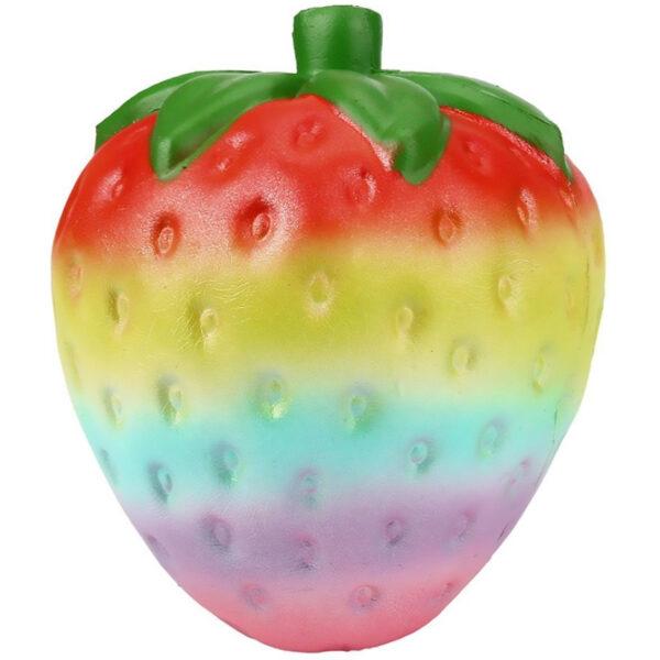 Sanqi Elan SQ213-Slow Rise Jumbo Rainbow Strawberry