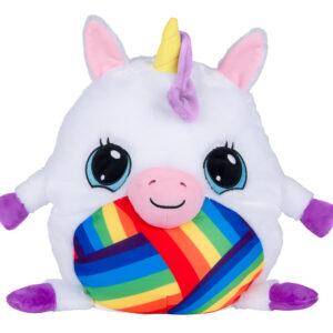 Mushabelly 7412 Grumble Sound Large Beanbag 15″ Arianna White Unicorn