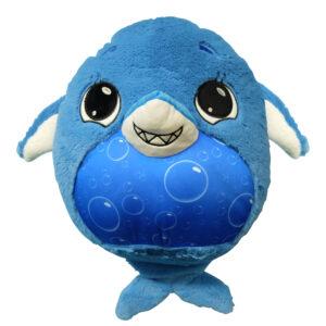 Mushabelly 7426 Grumble Sound Large Beanbag 15″ Mishu Blue Shark